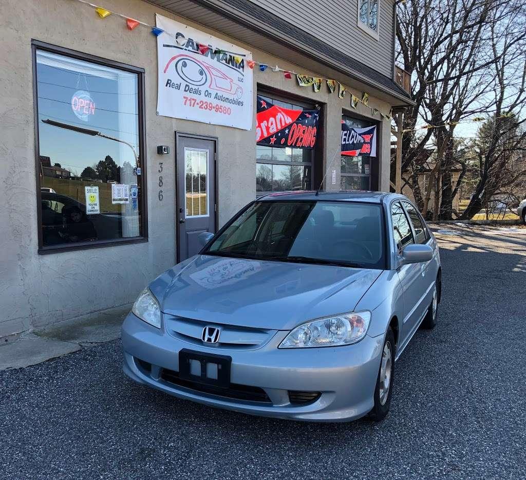 CarMania, LLC - car dealer  | Photo 1 of 10 | Address: 386 W Market St, Hallam, PA 17406, USA | Phone: (717) 239-9580