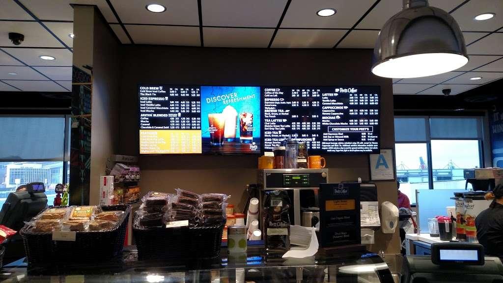 Peets Coffee - cafe    Photo 5 of 10   Address: 300 World Way, Los Angeles, CA 90045, USA