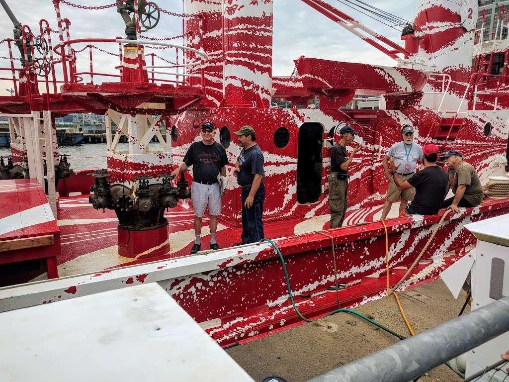 John J. Harvey Fireboat - store  | Photo 8 of 10 | Address: Hudson River Greenway, New York, NY 10005, USA