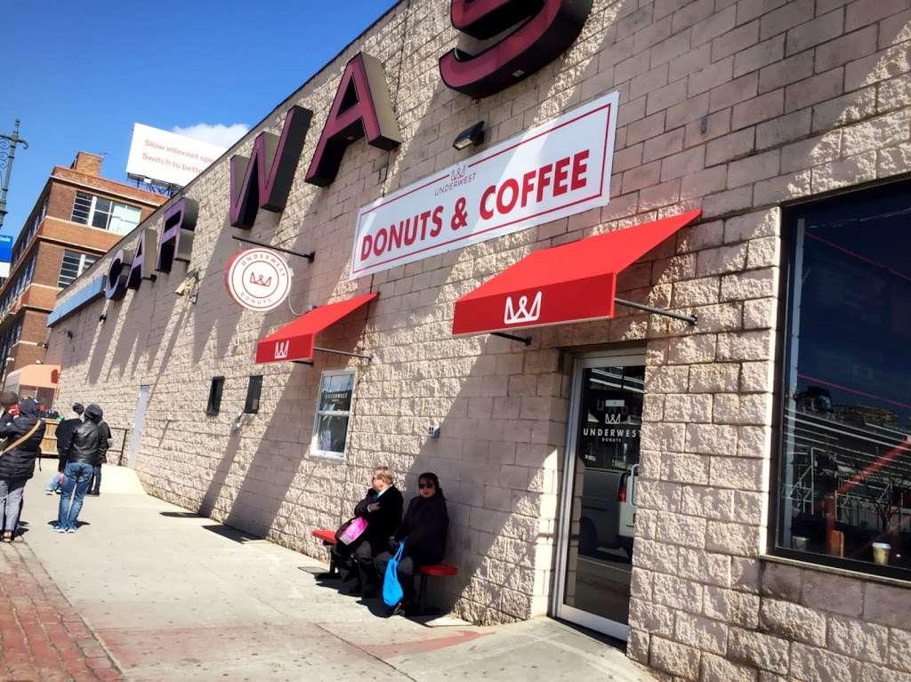 Underwest Donuts - bakery    Photo 3 of 10   Address: 638 W 47th St, New York, NY 10036, USA   Phone: (212) 317-2359