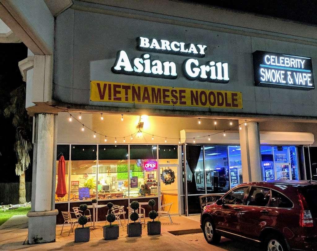 Barclay Asian Grill - restaurant    Photo 3 of 10   Address: 18311 Clay Rd, Houston, TX 77084, USA   Phone: (281) 856-9886