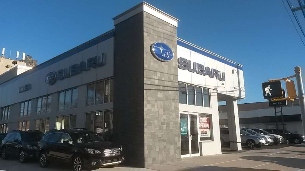 Milea Subaru - car dealer  | Photo 3 of 10 | Address: 3201 E Tremont Ave, Bronx, NY 10461, USA | Phone: (718) 829-8200