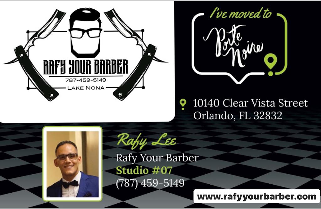 Rafy your Barber Hair Studio - hair care  | Photo 8 of 8 | Address: 10140 Clear Vista St Studio 7, Orlando, FL 32832, USA | Phone: (787) 459-5149