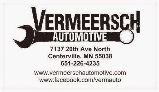 Vermeersch Automotive - car repair  | Photo 1 of 9 | Address: 7137 20th Ave N, Centerville, MN 55038, USA | Phone: (651) 226-4235