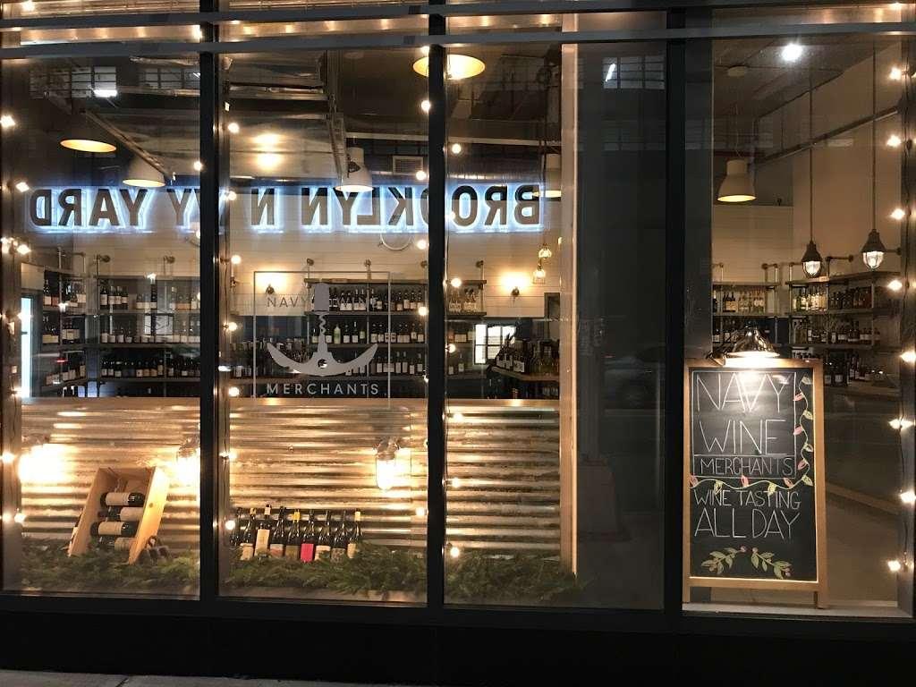 Navy Wine Merchants - store  | Photo 1 of 2 | Address: 138 Flushing Ave, Brooklyn, NY 11205, USA | Phone: (718) 643-0011