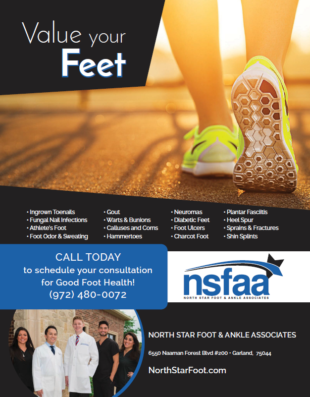 North Star Foot & Ankle Associates - doctor  | Photo 6 of 9 | Address: 6550 Naaman Forest Blvd #200, Garland, TX 75044, USA | Phone: (972) 480-0072