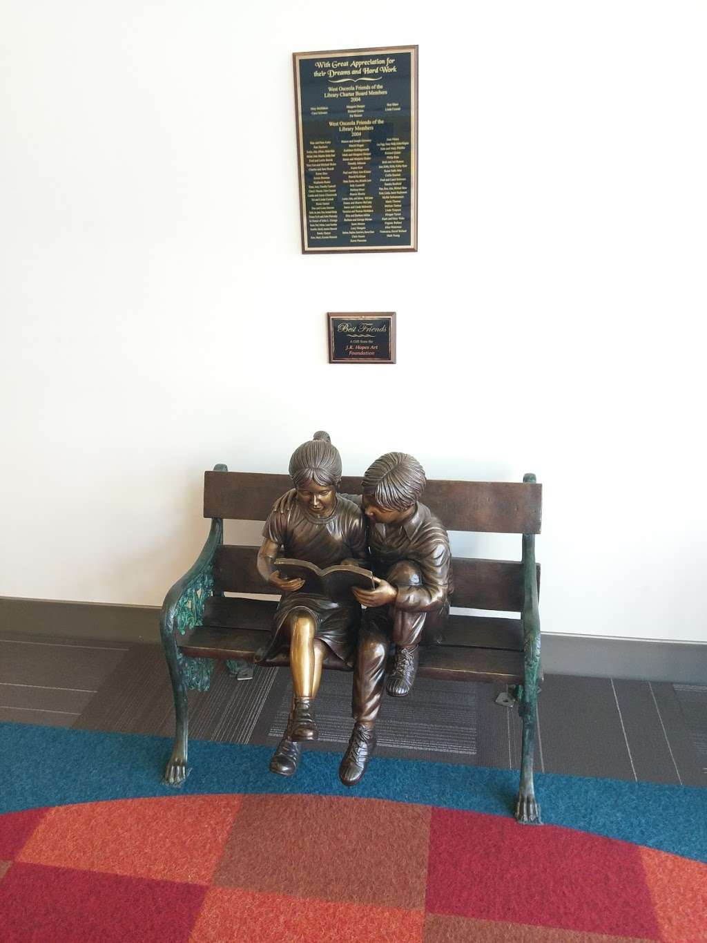 West Osceola Branch Library - library  | Photo 8 of 10 | Address: 305 Campus St, Kissimmee, FL 34747, USA | Phone: (407) 742-8888