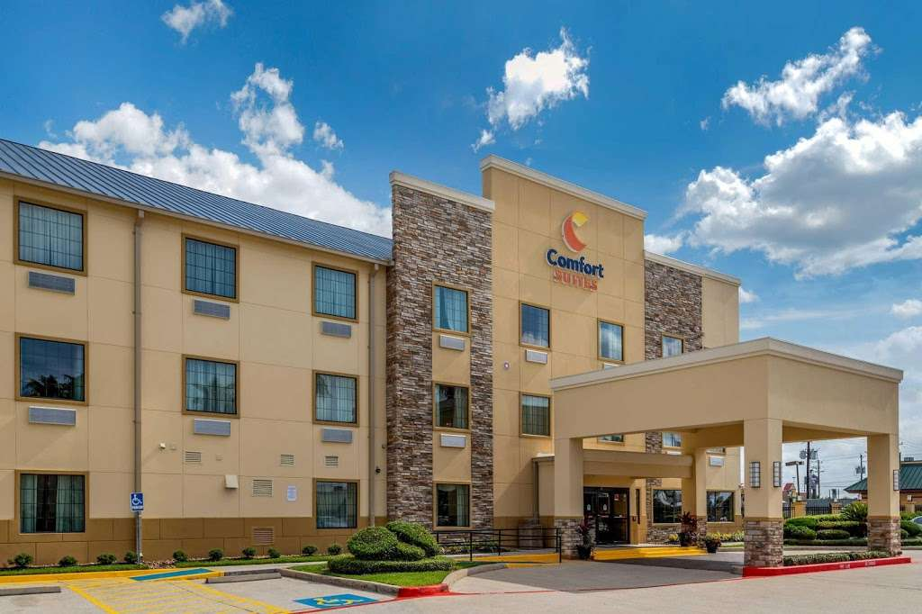 Comfort Suites - lodging    Photo 6 of 10   Address: 7209 Garth Rd, Baytown, TX 77521, USA   Phone: (281) 421-9764