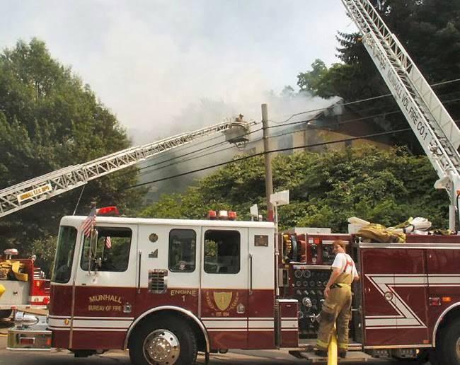 Munhall Volunteer Fire Co # 1 - fire station  | Photo 9 of 9 | Address: 1300 Martha St, Munhall, PA 15120, USA | Phone: (412) 464-7321