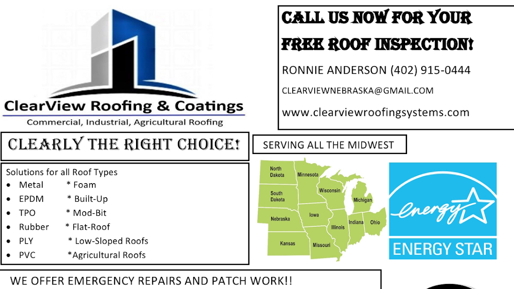 ClearView Roofing & Coatings of Nebraska - roofing contractor  | Photo 3 of 4 | Address: 4500 N 21st St, Lincoln, NE 68521, USA | Phone: (402) 915-0444