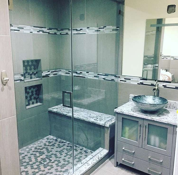 Custom shower door&mirrors - store  | Photo 4 of 10 | Address: 522 Columbia Ave #3, Fort Lee, NJ 07024, USA | Phone: (929) 204-2845