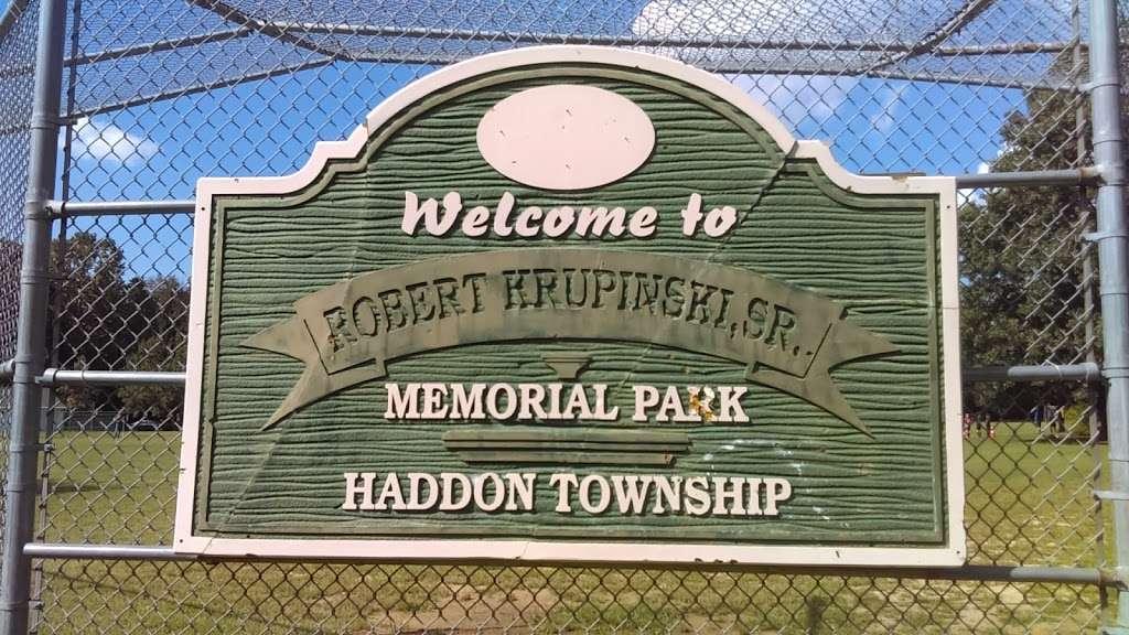 Robert Krupinski Sr. Memorial Park - park  | Photo 3 of 3 | Address: 200 Blenheim Ave, West Collingswood Heights, NJ 08059, USA