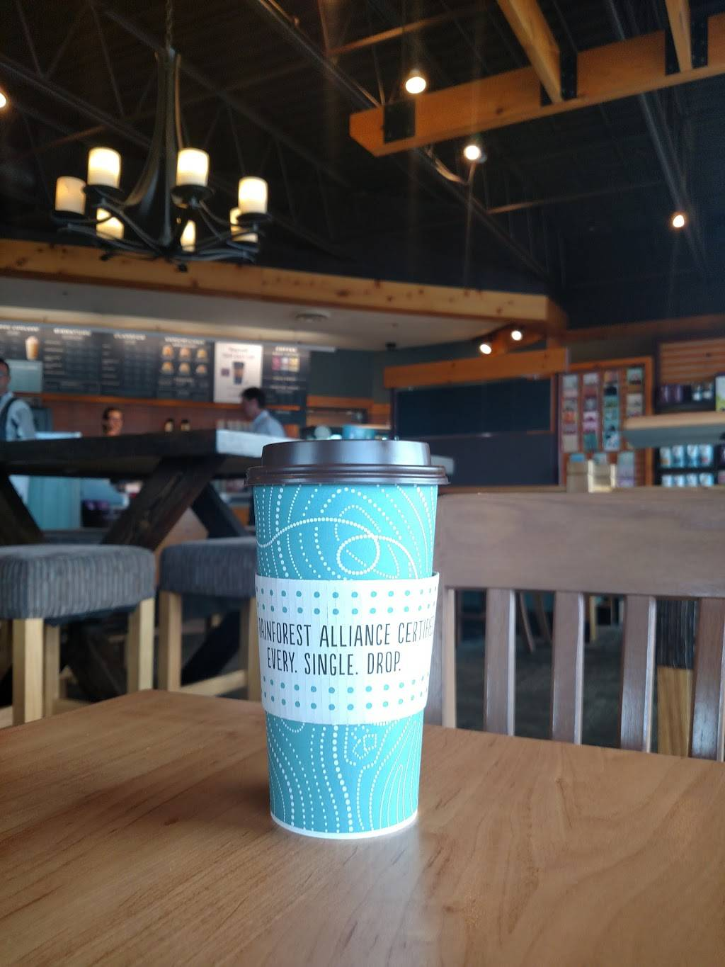 Caribou Coffee - cafe  | Photo 8 of 9 | Address: 9420 N 36th Ave, New Hope, MN 55427, USA | Phone: (763) 546-1818