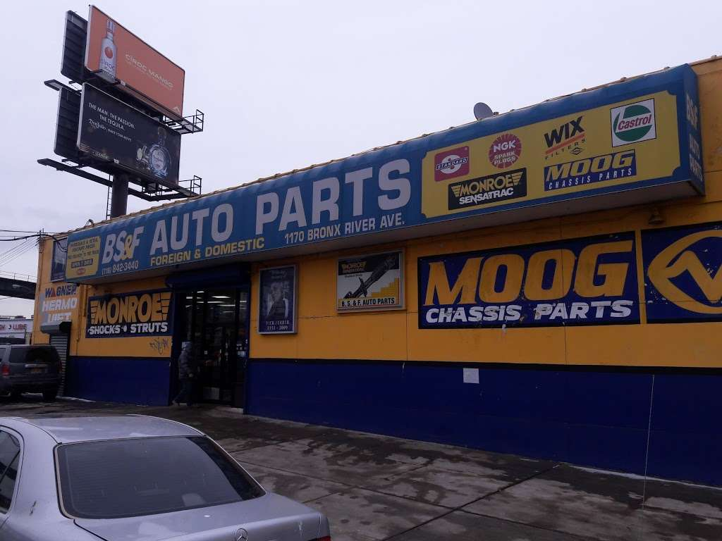 B.S.F. Auto Parts - car repair  | Photo 3 of 10 | Address: 1170 Bronx River Ave, Bronx, NY 10472, USA | Phone: (718) 842-3440