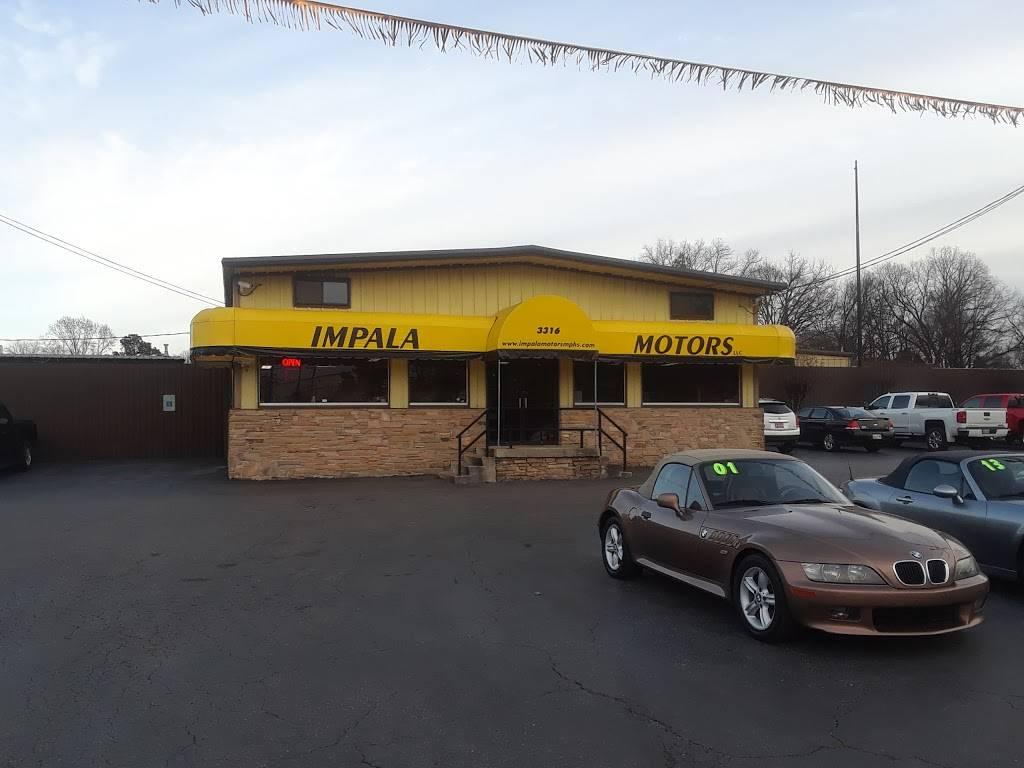 Impala Motors - car dealer  | Photo 2 of 10 | Address: 3316 Thomas St, Memphis, TN 38127, USA | Phone: (901) 358-9300