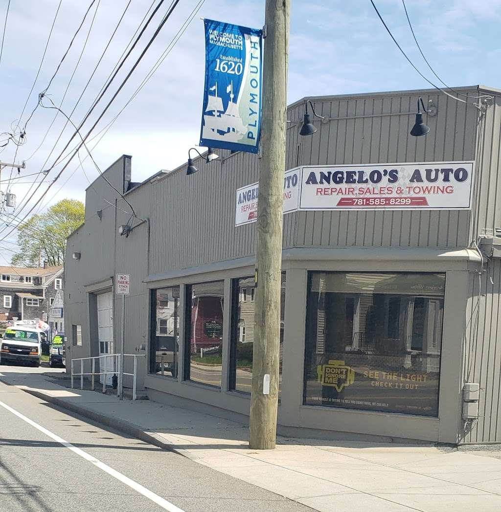 Angelos Auto Repair, Sales & Towing - car repair  | Photo 4 of 5 | Address: 40 Samoset St, Plymouth, MA 02360, USA | Phone: (781) 585-8299