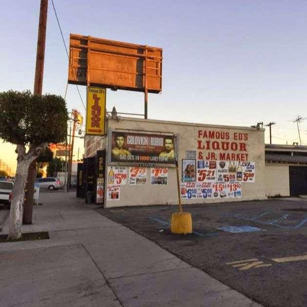 FAMOUS ED LIQUR & JR MARKET - store  | Photo 7 of 10 | Address: 2720 Whittier Blvd, Los Angeles, CA 90023, USA | Phone: (323) 269-4297