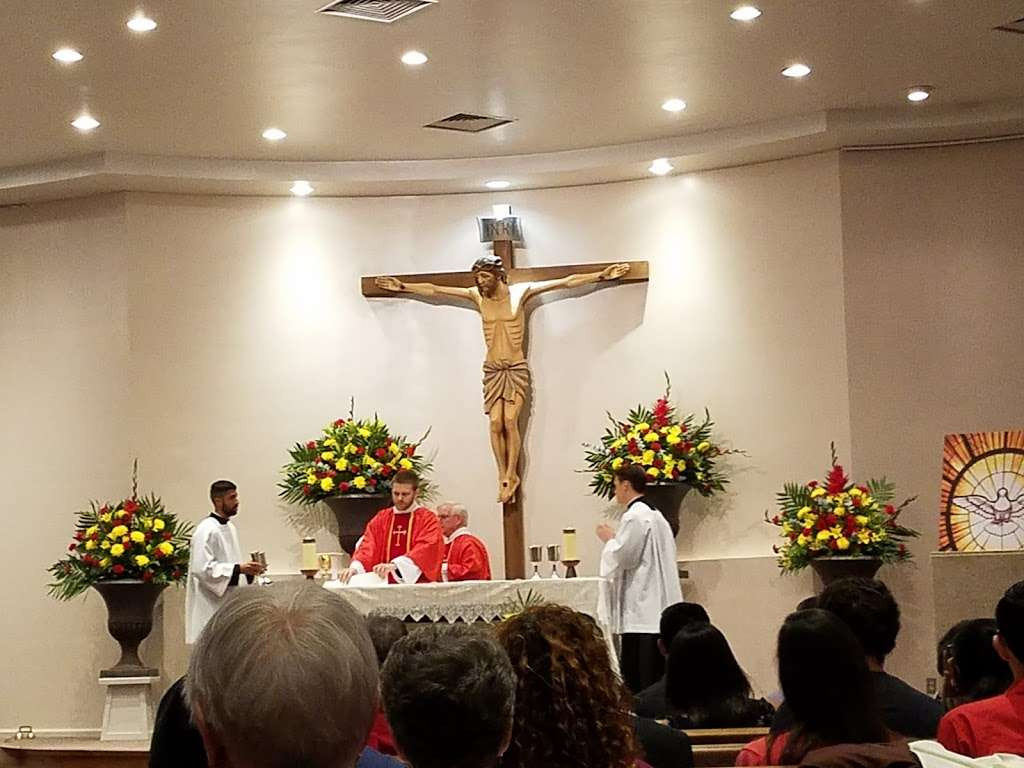 Holy Spirit Catholic Church - church  | Photo 2 of 10 | Address: 8134 Blanco Rd, San Antonio, TX 78216, USA | Phone: (210) 341-1395