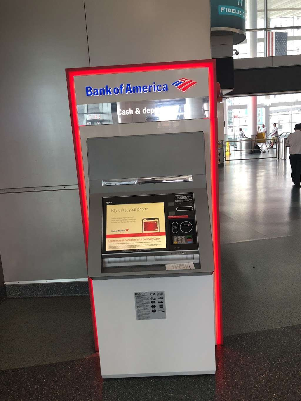 Bank of America ATM - atm  | Photo 3 of 3 | Address: 4 South St, New York, NY 10004, USA | Phone: (800) 622-8731