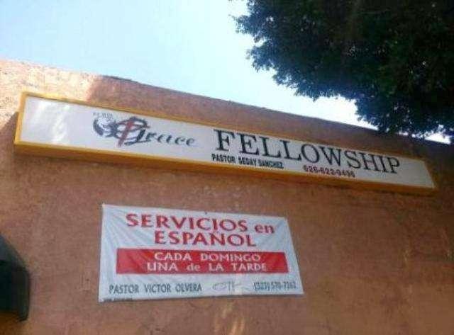 BY HIS GRACE FELLOWSHIP - church    Photo 7 of 9   Address: 3259 East Cesar E Chavez Avenue, Los Angeles, CA 90063, USA   Phone: (626) 622-9496