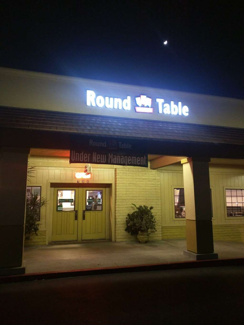 Round Table Pizza - meal delivery    Photo 5 of 6   Address: 732 N Brea Blvd, Brea, CA 92821, USA   Phone: (714) 671-2821