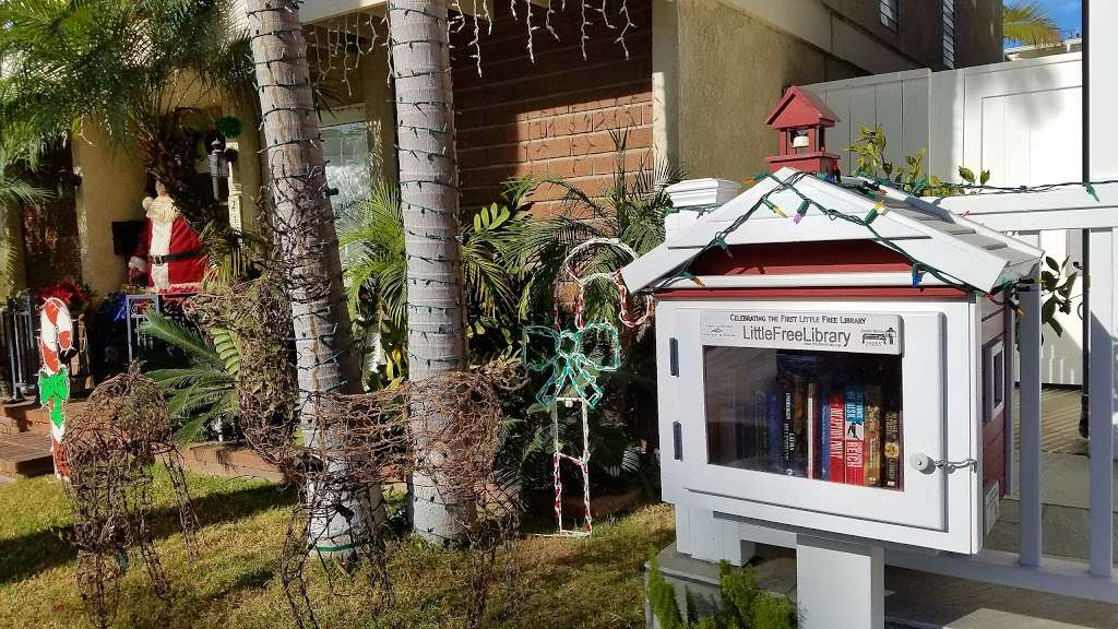 Little Free Library - library  | Photo 1 of 2 | Address: 223 Marguerite Ave, Corona Del Mar, CA 92625, USA