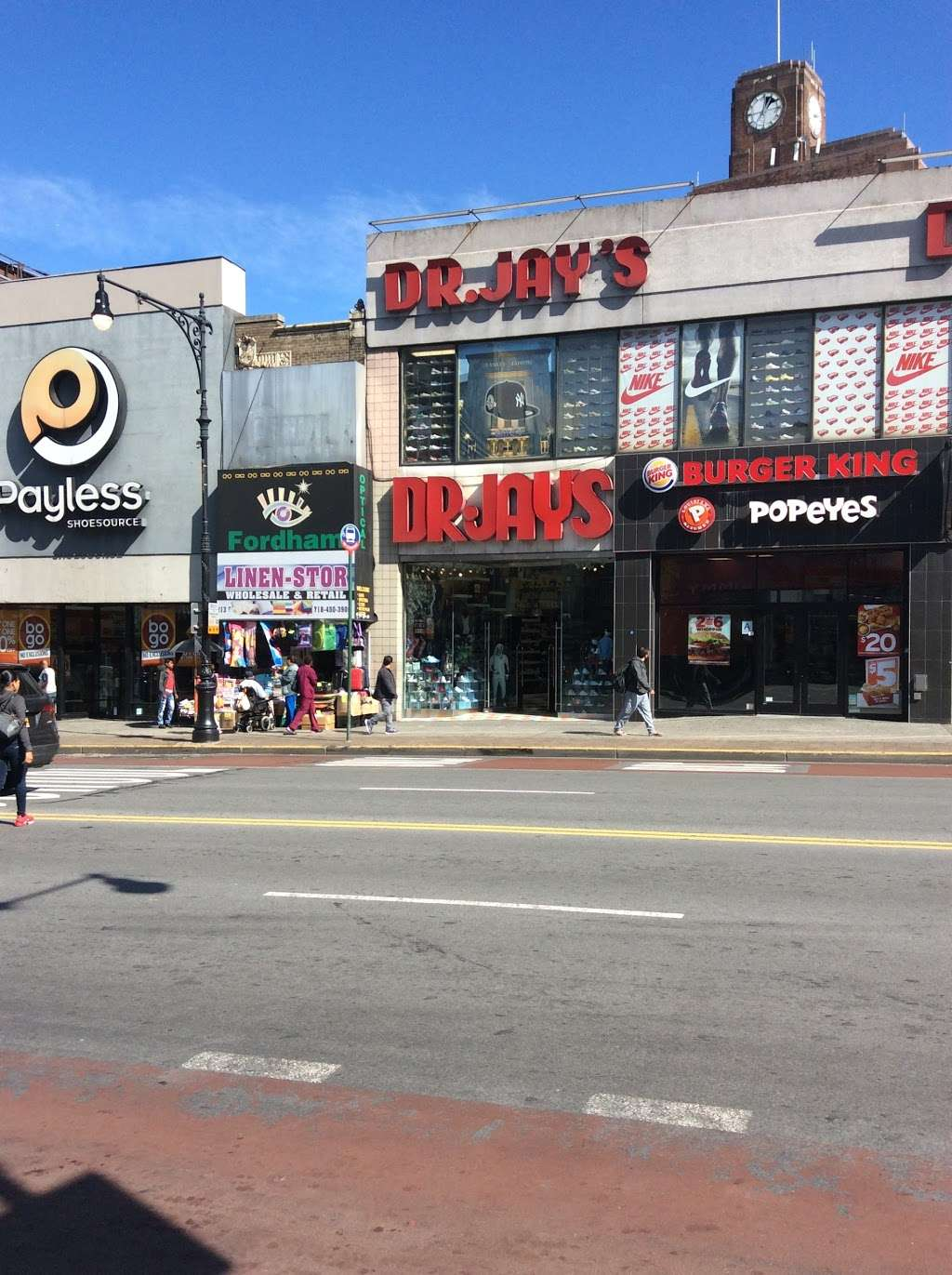 Dr Jays - clothing store  | Photo 1 of 10 | Address: 215 E Fordham Rd, The Bronx, NY 10458, USA | Phone: (718) 220-3354