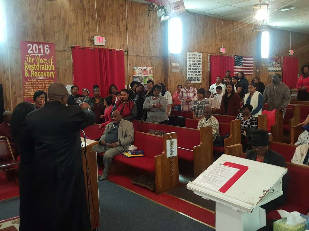 Higher Ground Temple Church of God in Christ - church  | Photo 4 of 4 | Address: 203 Vine St, Camden, NJ 08102, USA | Phone: (856) 283-6114
