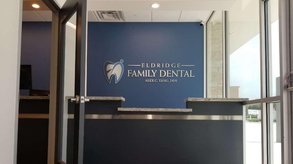 Eldridge Family Dental - Dr. Alex Yang - dentist  | Photo 1 of 10 | Address: 2220 Eldridge Rd Ste 150, Sugar Land, TX 77478, USA | Phone: (281) 302-6844