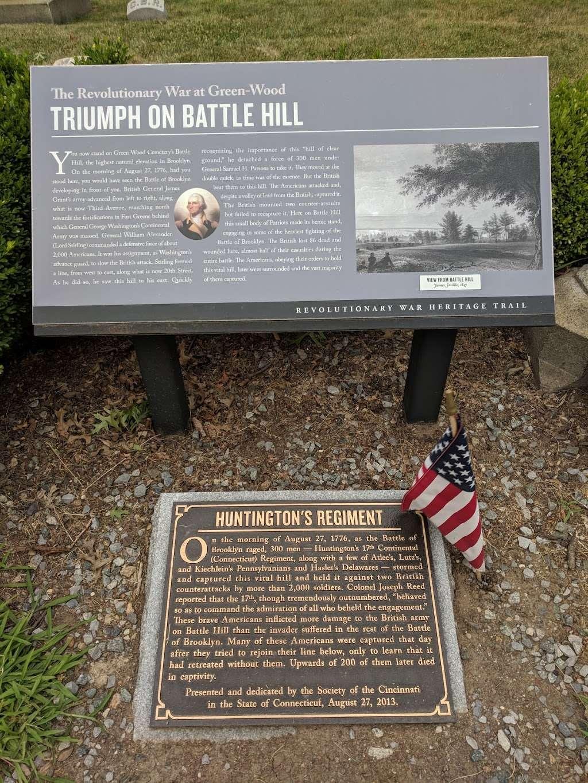 Triumph On Battle Hill - park    Photo 2 of 4   Address: Unnamed Road, Brooklyn, NY 11218, USA