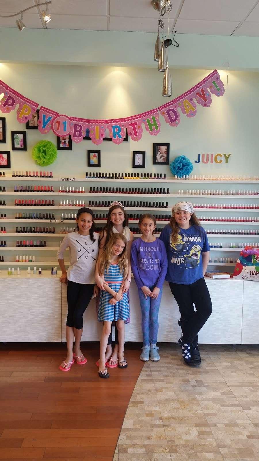Juicy Nails & Spa - hair care    Photo 6 of 10   Address: 525 Main St #6, Monroe, CT 06468, USA   Phone: (203) 459-9494