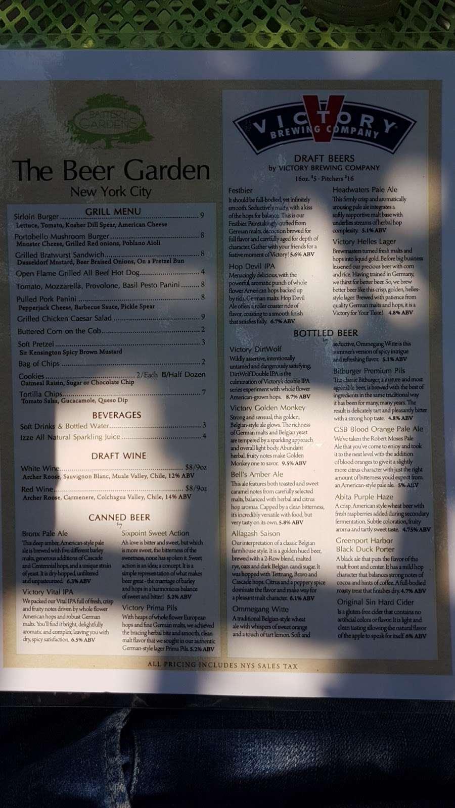 The Beer Garden - restaurant  | Photo 2 of 4 | Address: New York, NY 10004, USA