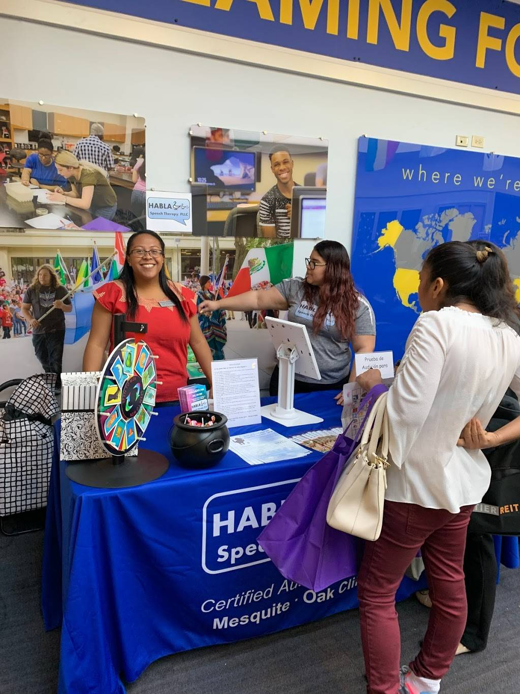 Habla Speech Therapy, PLLC (Certified Autism Center) - health    Photo 1 of 9   Address: 5801 Marvin D Love Fwy Suite 240, Dallas, TX 75237, USA   Phone: (972) 638-7286