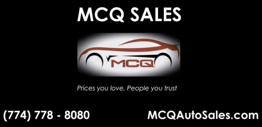 MCQ Sales INC - car dealer    Photo 4 of 8   Address: 13 Williams St, Upton, MA 01568, USA   Phone: (774) 778-8080