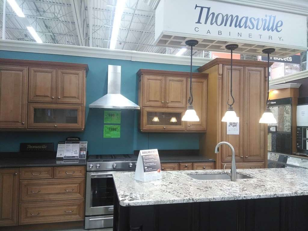 Kitchen Cabinets & Countertops Showroom at The Home Depot ...