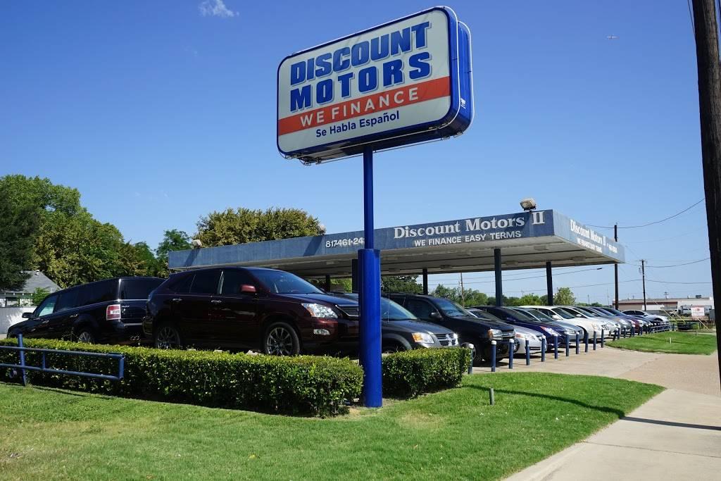 Discount Motors 2 - car dealer  | Photo 1 of 10 | Address: 620 N Collins St, Arlington, TX 76011, USA | Phone: (817) 461-2424