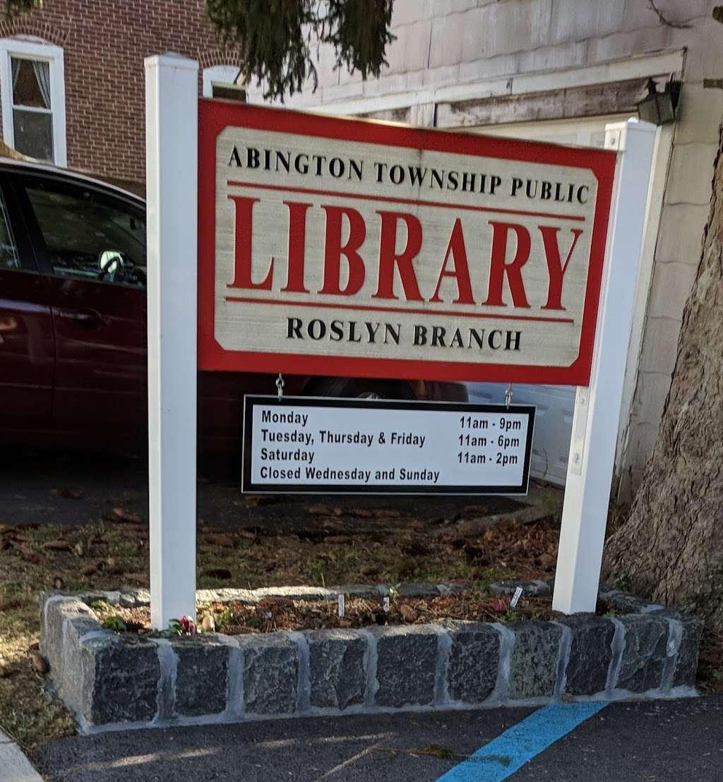 Roslyn Branch Library - library  | Photo 2 of 2 | Address: 2412 Avondale Ave, Roslyn, PA 19001, USA | Phone: (215) 886-9818