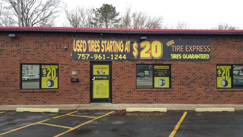 Used Tire Express - car repair  | Photo 1 of 10 | Address: 1788 Virginia Beach Blvd, Virginia Beach, VA 23454, USA | Phone: (757) 961-1244