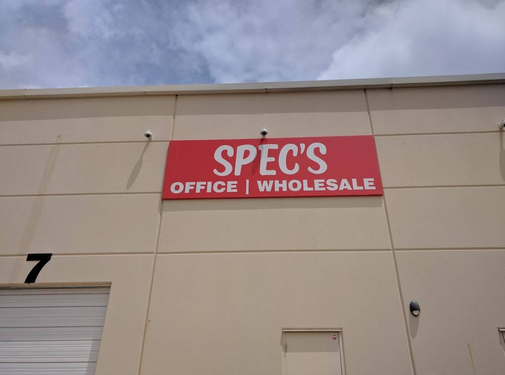 Specs Wholesale Offices - store  | Photo 1 of 1 | Address: 1340 Airport Commerce Dr, Austin, TX 78741, USA | Phone: (888) 526-8787