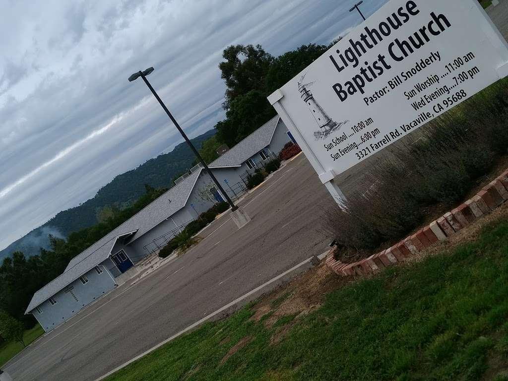 Lighthouse Baptist Church - church  | Photo 6 of 6 | Address: 3321 Farrell Rd, Vacaville, CA 95688, USA | Phone: (707) 724-8822