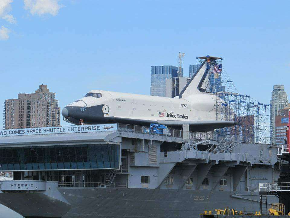 Space Shuttle Pavillion - museum  | Photo 1 of 10 | Address: Pier 86, 12th Ave & W 46th St, New York, NY 10036, USA | Phone: (212) 245-0072