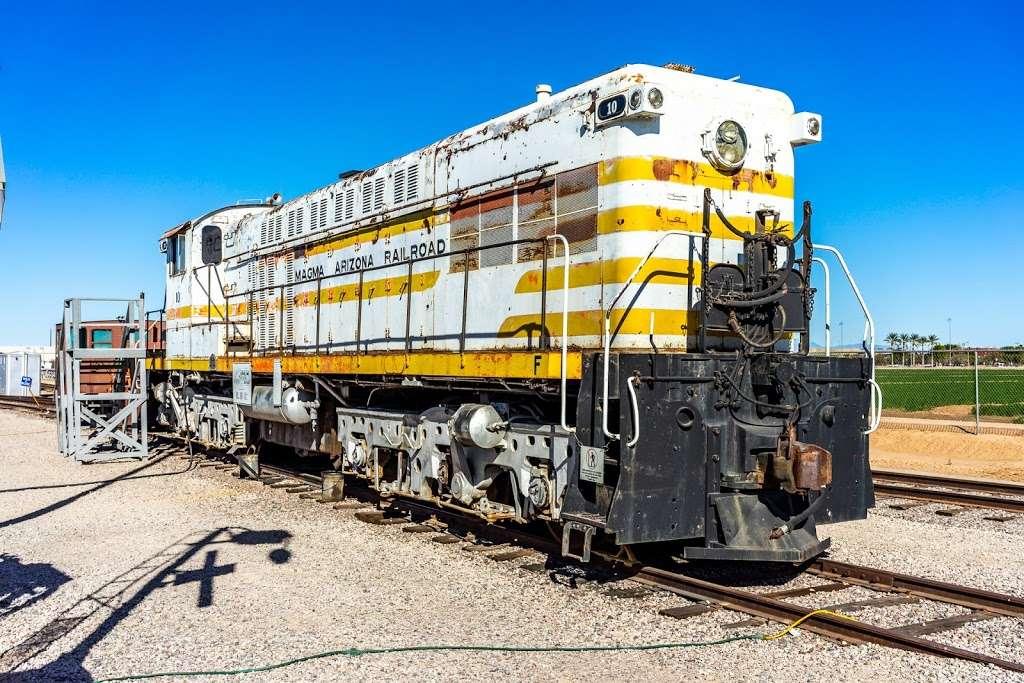 Arizona Railway Museum - museum  | Photo 4 of 10 | Address: 330 E Ryan Rd, Chandler, AZ 85286, USA | Phone: (480) 821-1108