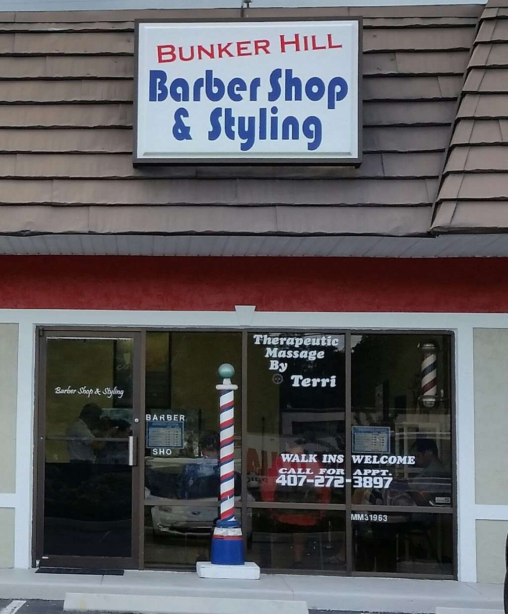 Bunker Hill Barber Shop - hair care  | Photo 1 of 1 | Address: 15232 E Colonial Dr, Orlando, FL 32826, USA | Phone: (407) 368-8852