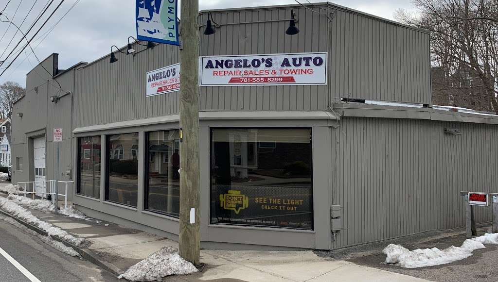 Angelos Auto Repair, Sales & Towing - car repair  | Photo 2 of 5 | Address: 40 Samoset St, Plymouth, MA 02360, USA | Phone: (781) 585-8299