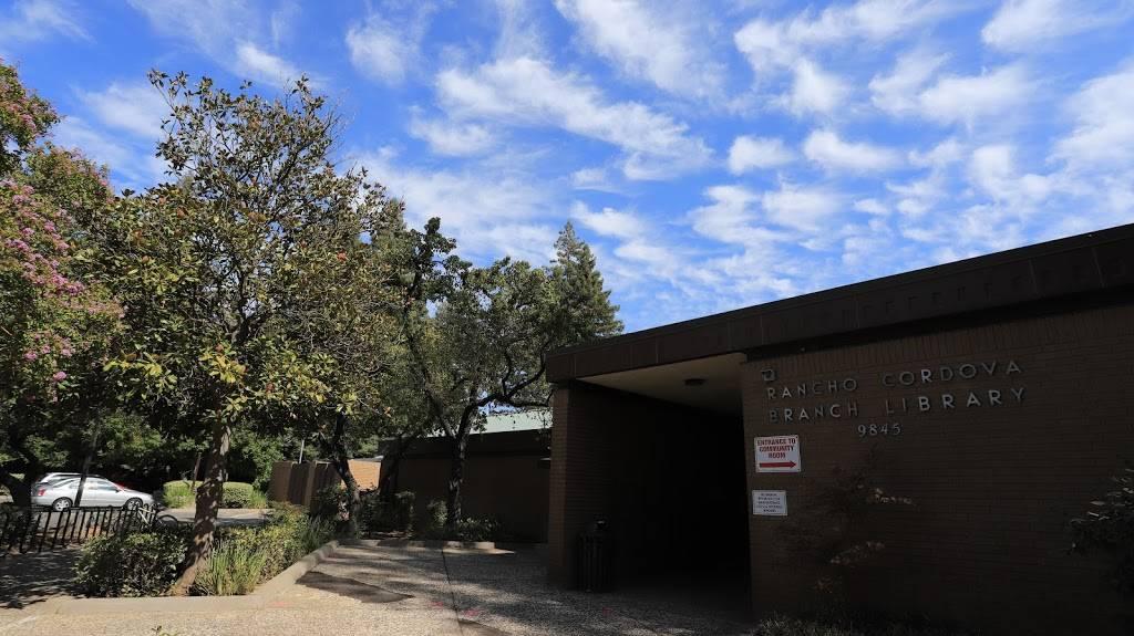 Rancho Cordova Library - library    Photo 2 of 5   Address: 9845 Folsom Blvd, Sacramento, CA 95827, USA   Phone: (916) 264-2920
