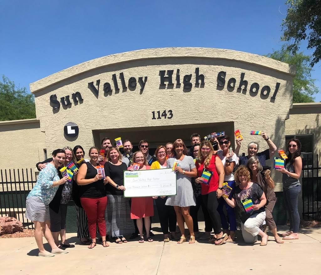 Sun Valley High School - school    Photo 2 of 2   Address: 1143 S Lindsay Rd, Mesa, AZ 85204, USA   Phone: (480) 497-4800