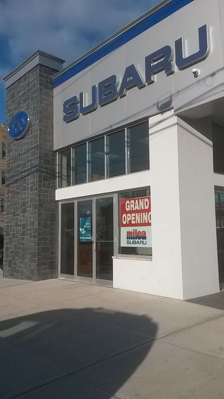 Milea Subaru - car dealer  | Photo 5 of 10 | Address: 3201 E Tremont Ave, Bronx, NY 10461, USA | Phone: (718) 829-8200