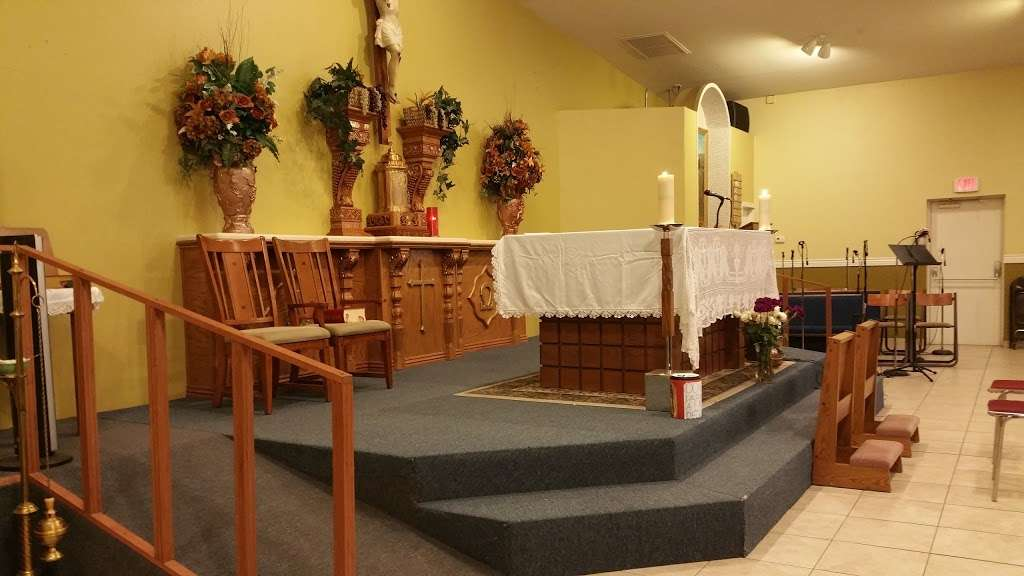Saint Williams Catholic Church - church    Photo 2 of 9   Address: 11025 W 3rd St, Cashion, AZ 85329, USA   Phone: (623) 936-6115