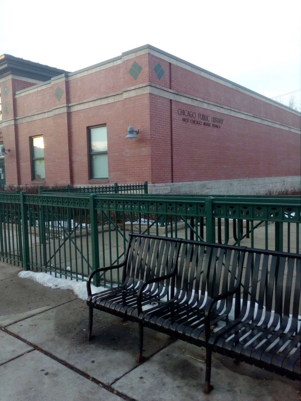 West Chicago Avenue Branch, Chicago Public Library - library  | Photo 3 of 10 | Address: 4856 W Chicago Ave, Chicago, IL 60651, USA | Phone: (312) 743-0260