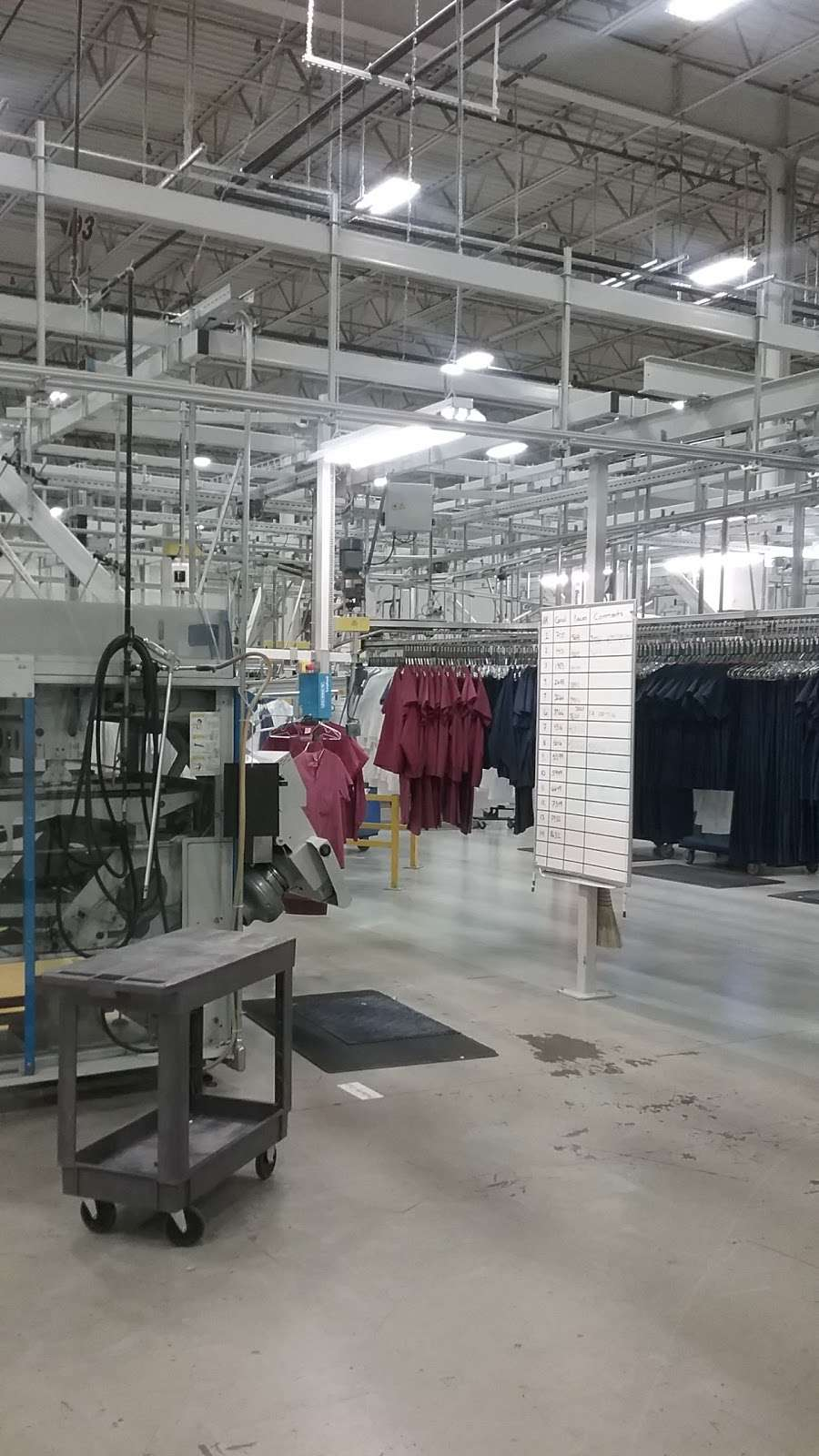 Nixon Uniform Rental Services - clothing store  | Photo 6 of 10 | Address: 500 Centerpoint Blvd, New Castle, DE 19720, USA | Phone: (302) 325-2875